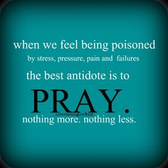 So true~~Faith is my guide, pray for those who want to keep you down~pray for others, their pain and circumstance..stay outside of yourself and centered in Christ~~