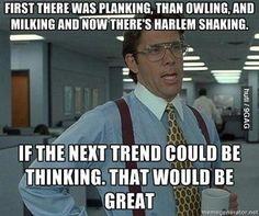 Now Trending: Thinking!