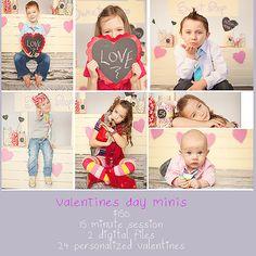 Valentines Day Mini Sessions - Cambridge Children's Photographer | hulahoopphotography.com mini sessions, valentin mini, candi jar, candy jars