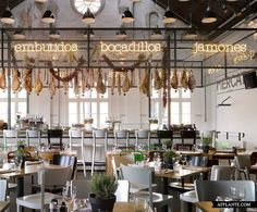 Mercat Restaurant in Amsterdam by Concrete