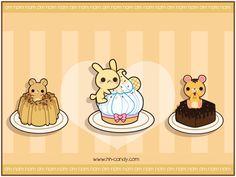 Cake Animals Wallpaper by *A-Little-Kitty on deviantART