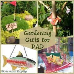 10 Unique Gardening Gift Ideas For Dad, #fathersday