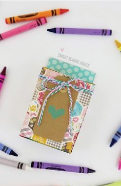It's back-to-school season! DIY Crayon Boxes are perfect for the first day of school