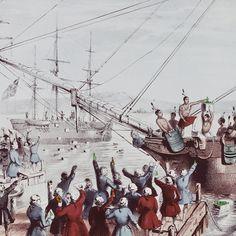Boston Tea Party - December 16, 1773