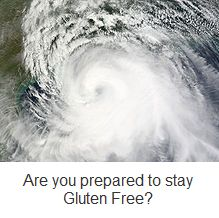 Staying #Glutenfree During a #NaturalDisaster, a first-person account. #celiac #coeliac