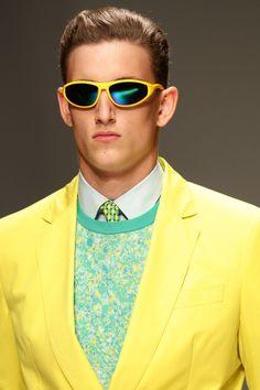 Need sunnies for this! Ferragamo Men Sunglasses – Spring 2013