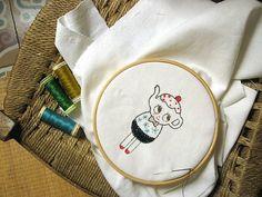 embroidery patterns, embroideri pattern, head pattern