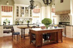 Federal-Style Virginia Farmhouse Kitchen...