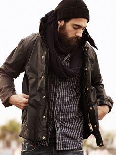 Beard for winter