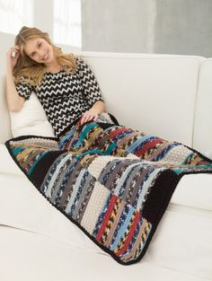 Free Crochet Pattern: Nantucket Afghan
