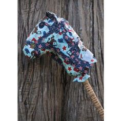 Lil Moo Designs Dusty Hobby Horse