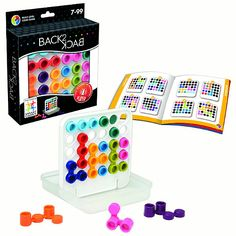 Back 2 Back by Smart Games a unique spin on the grid puzzle - a single player logic game with double the fun!
