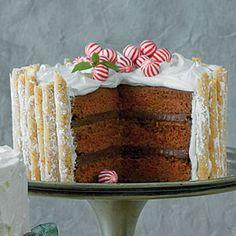 Peppermint-Hot Chocolate Cake | MyRecipes.com