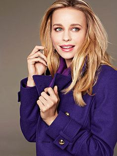 Fall 2013 fashion trend:    The Color Purple