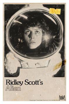 Original Alien movie poster
