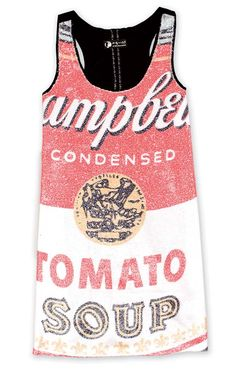 Campbell Soup Can Dress