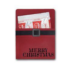 Christmas Santa Cocoa Holder