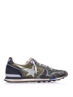 GOLDEN GOOSE DELUXE BRAND, RUNNER CAMOUFLAGE: that bit of blue on the sole.
