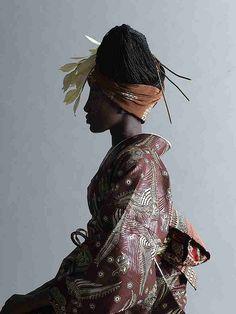 Serge Mouangue's WAfrica kimono