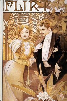 French poster   Art Nouveau   Affiche publicitario  
