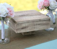Cake Stand Vintage Inspired Rustic Chic Wedding Decor (item P10627) on Etsy
