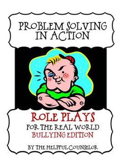 Social Skills: Problem Solving Role Playing Activity Pack #bullying $