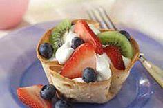 Tortilla Fruit Cups