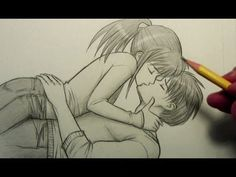I am a big fan of Mark Crilley... This is my favorite drawing from Mark,..How to Draw People Kissing (Pose)