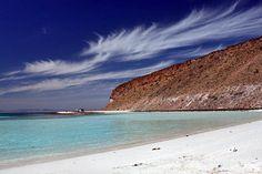 Corralito Beach on Espiritu Santo Island.