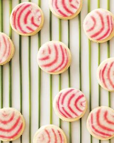 Chioggia beets give these tea sandwiches their amazing stripes.