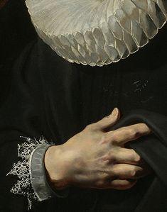 Peter Paul Rubens: Portrait of a Young Man (detail), c.1613.