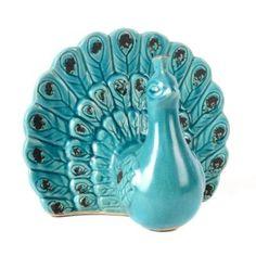 Peacock Home & Floral Decor