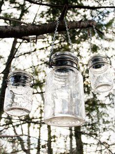 mason jar solar light hangers 2 by usedandabused on Etsy, $8.00