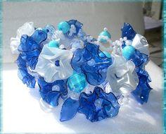 great plastic bottle flowers