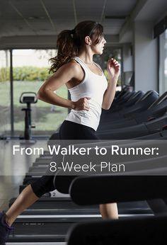 From Walker to Runner: 8-Week Plan