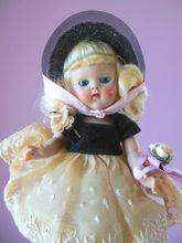 Factory All Original 1953 Strung Vogue Ginny Becky Debutante Doll
