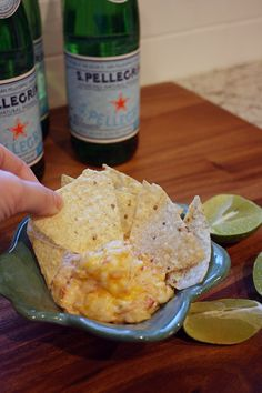 Chicken Enchilada Dip. Perfect for a party!