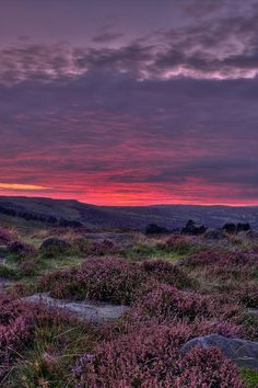 Ilkley Moor is part of the moorland which stretches between Ilkley and Keighley in West Yorkshire. This moor, which rises 402 m (1319 ft) above sea level, is distinguished for the inspiration of the unofficial Yorkshire county anthem. On Ilkla Moor Baht 'at  ('On Ilkley Moor Without a Hat')     This cheery tune, sung in the Yorkshire dialect, relates the romantic tale of a lover who courts his beloved Mary Jane on said moor with a bare head.