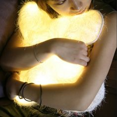 She would love this... product, huggabl pillow, dlight huggabl, stuff, light pillow, night lights, design, pillows, thing