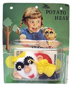 vintag, rememb, real potato, potatoes, nostalgia, potato head