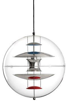 VP Globe pendant lamp - by Verner Panton - Verpan