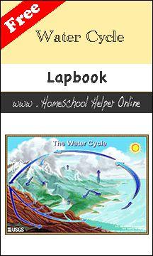 Free Water Cycle Lapbook - Homeschool Helper