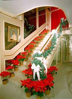 Inside Graceland at Christmas