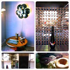 Vintage Home Style Collaboration at the Paris Flea Market- L'Eclaireur and Habitat 1964 at Les Puces St.Ouen  http://www.focusonstyle.com/style/vintage-home-style-collaboration-paris-flea-market-leclaireur-habitat-1964-les-puces-st-ouen/ #homestyle #paris #fleamarket #interior design
