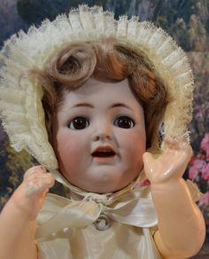 "SUGARY SWEET Antique Kammer Reinhardt Simon Halbig German Bisque Head Doll 16""   eBay"