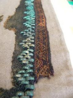 Tablet-woven border from Siksala shawl, Estonia, 13th-14th cent.