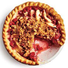 Rhubarb-Apple Pie | MyRecipes.com