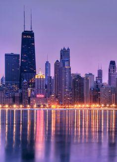 Chicago skyline reflection. #photography #chicago #reflection