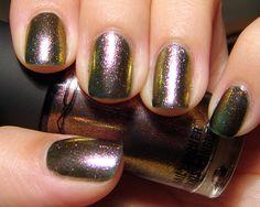 Mac iridescent  Nail Polish