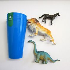 Dollar Store Crafts » Blog Archive » Tutorial: Party Cups with Animal Handles